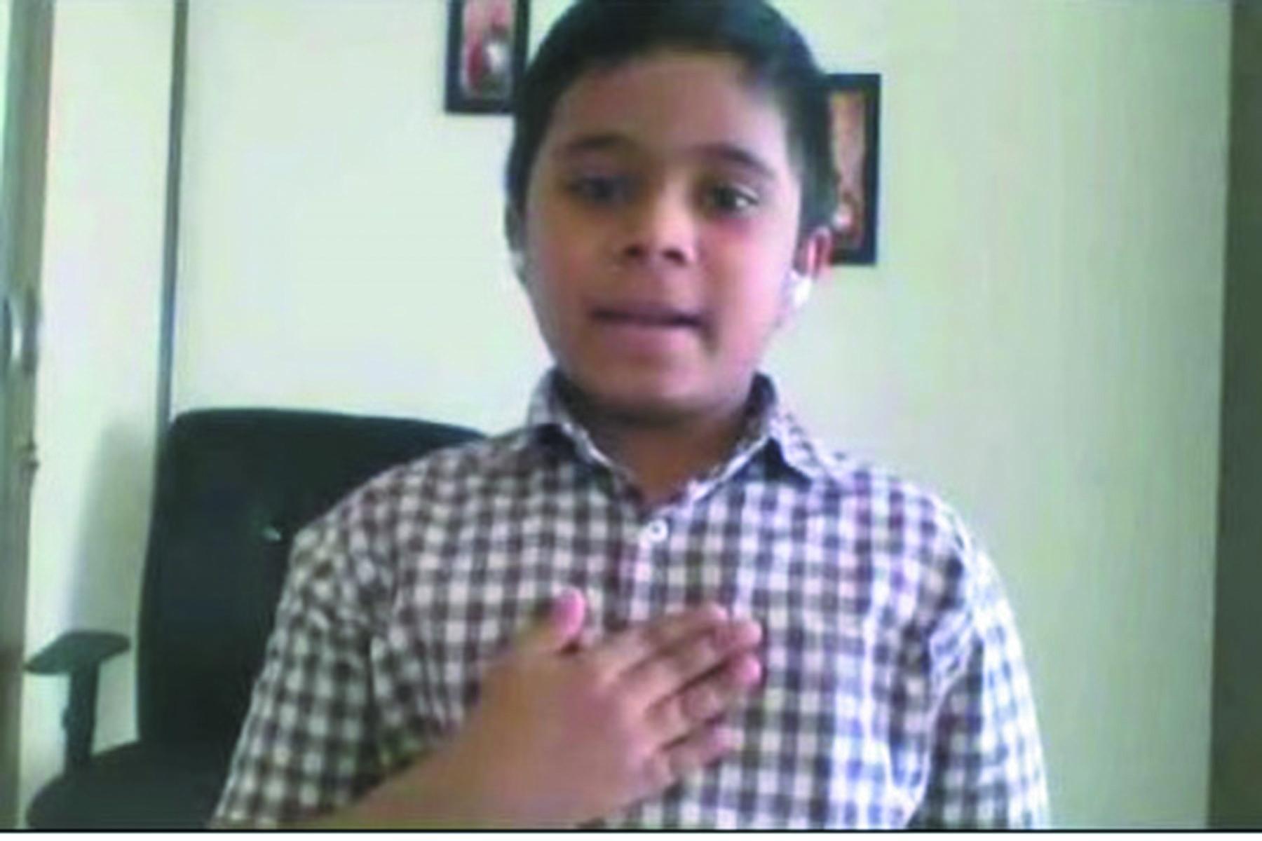 Hindi Recitation_ Edwin Sherry_IV B