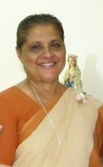Sr. Mary Mercy SND (January 2015 - October 2018)